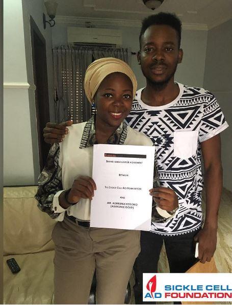Adekunle-Gold-ad-Bukky-Bolarinwa