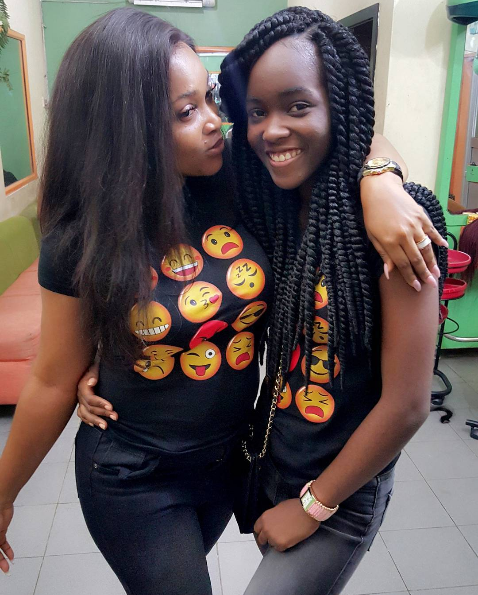 Mercy-Aigbe-and-daughter