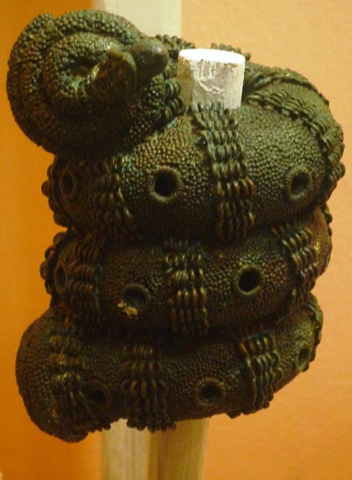 Bronze_ornamental_staff_head,_9th_century,_Igbo-Ukwu